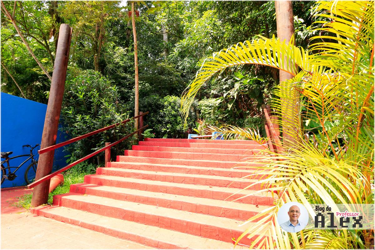 Escadaria Morro Nossa Senhora - Mongaguá