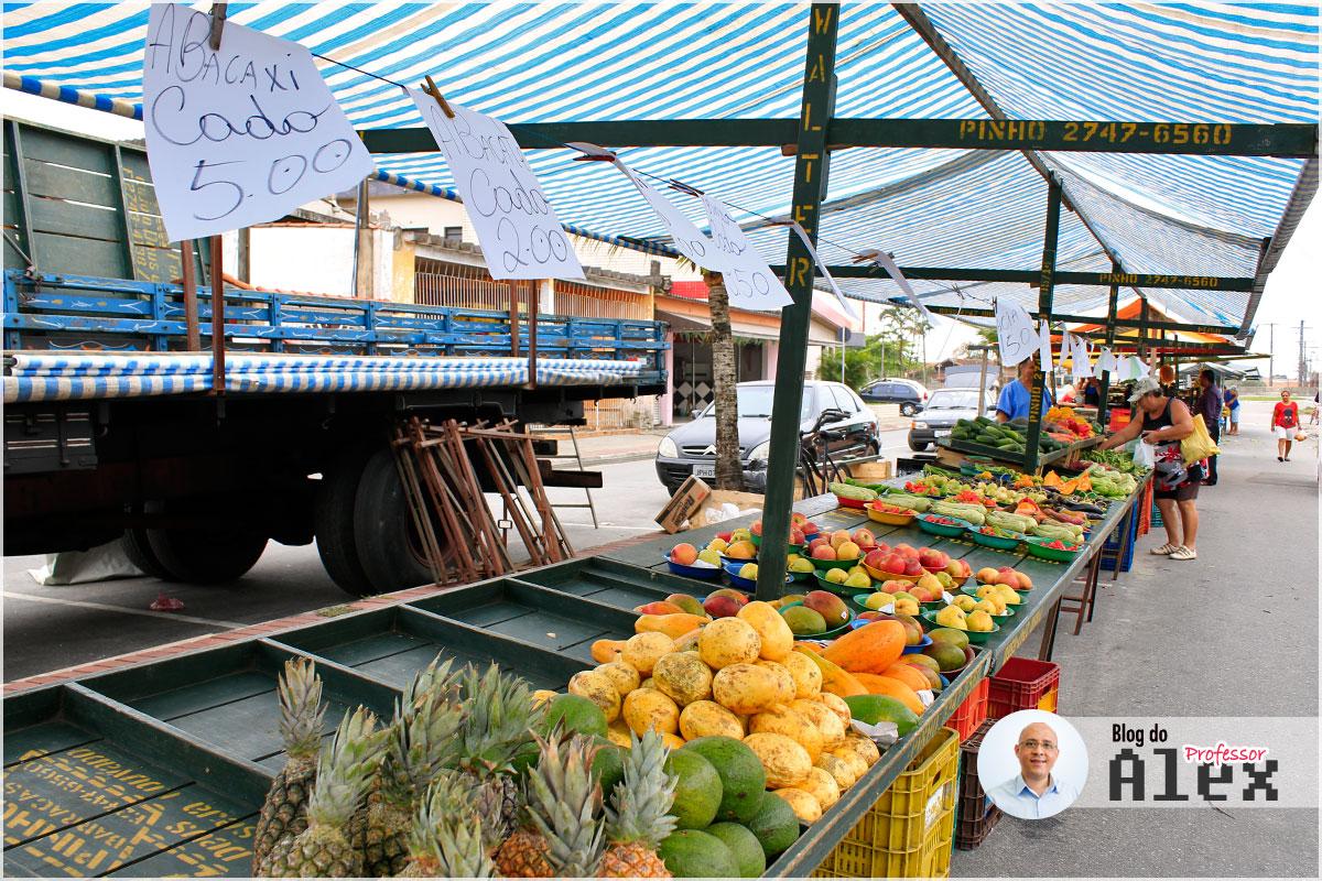 Feira Livre - Itaóca - Mongaguá