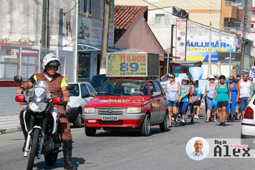 Caminhada Autismo Mongaguá