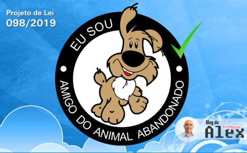 Selo Amigo dos Animais Abandonados